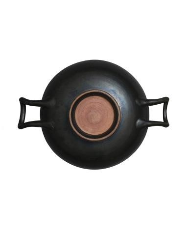 Greek black-glazed stemless kylix, Campania, c.350 BC