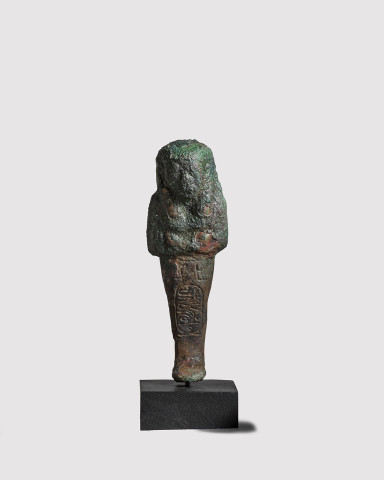Egyptian shabti for Psusennes I, Third Intermediate Period, 21st Dynasty, c.1047-1001 BC
