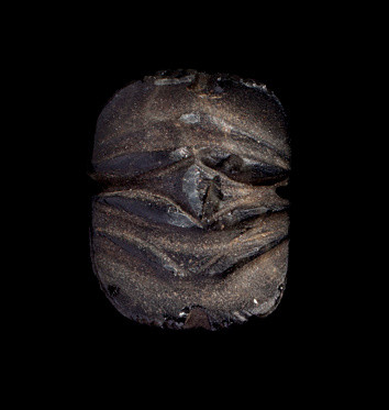 Egyptian scarab, Late Dynastic Period, 747-332 BC