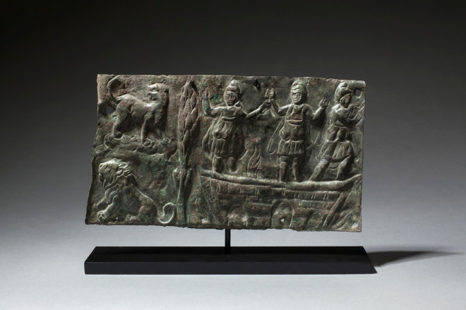 Byzantine plaque with Shadrak, Mishak and Abednego, 4th-6th century AD