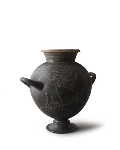 Central Italian stamnos, Probably Faliscan, Capena, c.630-600 BC