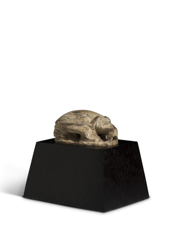 Egyptian hedgehog scaraboid, 25th-26th Dynasty