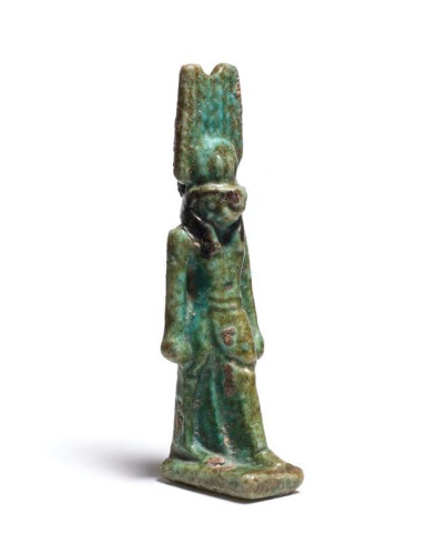 Egyptian amulet of Montu, Late Dynastic Period, 26th-31st Dynasty, c.747-332 BC