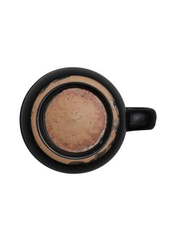 Greek black-glaze mug, South Italy, 4th-3rd century BC