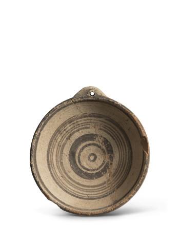 Cypriot Bichrome ware dish, Cypro-geometric, c.1050-750 BC