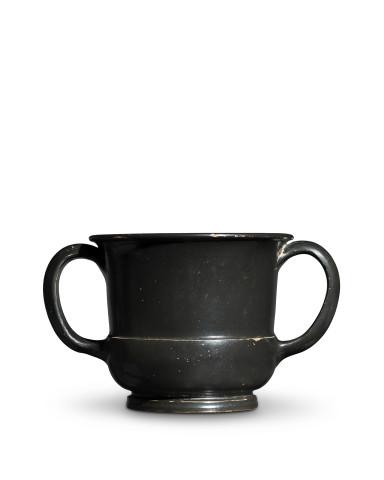 Greek black-glaze sessile kantharos, Athens, c.450-425 BC