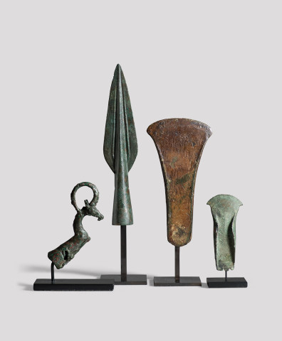 British flanged hand axe, Bronze Age, c.1600-1400 BC