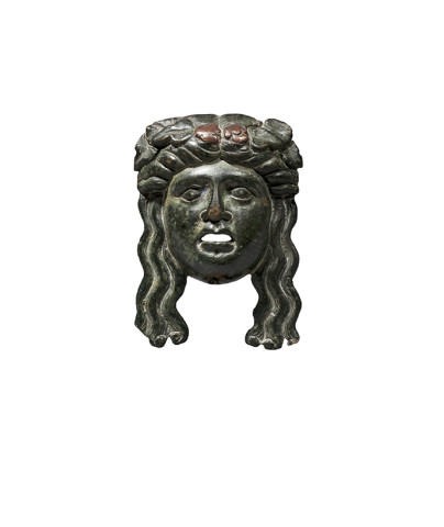 Roman Bacchic mask, c.1st century AD