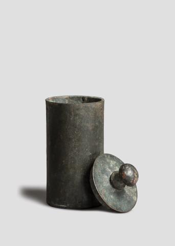 Roman cylindrical pyxis, c.1st century AD