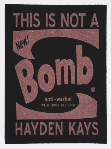 Hayden Kays, This Is Not A Bomb, 2016