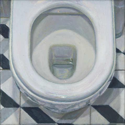 Craig Wylie, Toilet Bowl, 2018