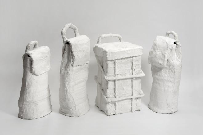 Joe Sweeney, Untitled (Wheelie Bags), 2016