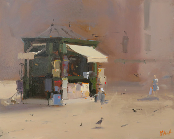 Michael Ashcroft MAFA, The Newstand, Venice