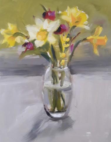 Liam Spencer, Daffodils, Crocus, and Forsythia