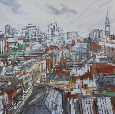 Matthew Thompson, Rooftops from Manchester House