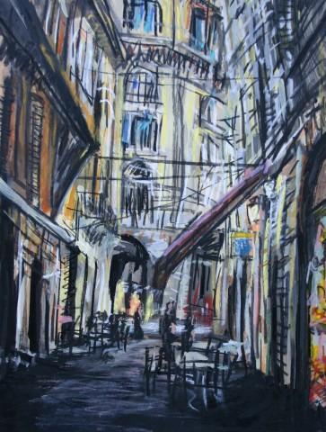 Matthew Thompson, Café Tables, Bologna