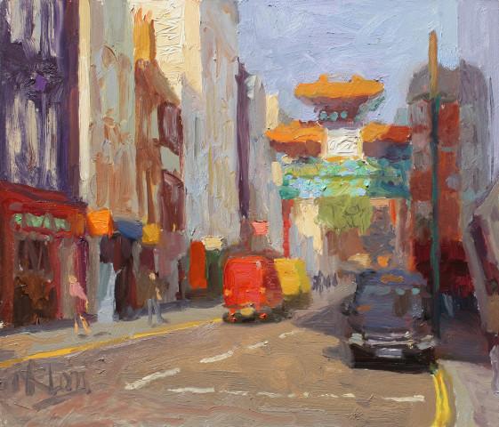 Norman Long MAFA, Chinatown