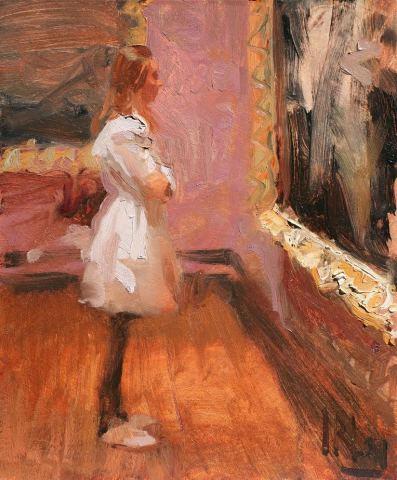 Norman Long MAFA, Gallery Girl