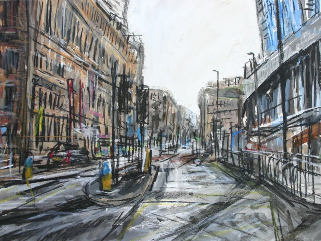 Matthew Thompson, Portland Street from Piccadilly, 2019