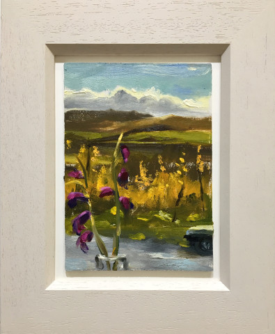 Liam Spencer, Flowers & Autumn Landscape, 2019