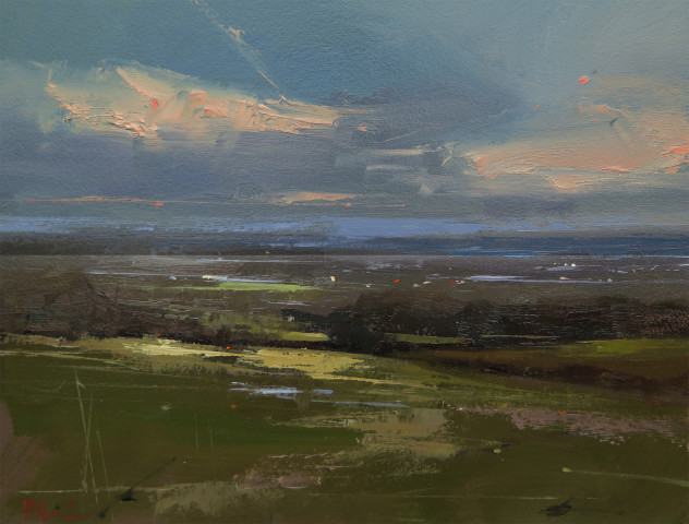 Michael Ashcroft AROI MAFA, Rivington Top, View towards Manchester