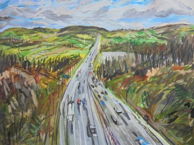 Matthew Thompson, M62 Near Scammonden Reservoir