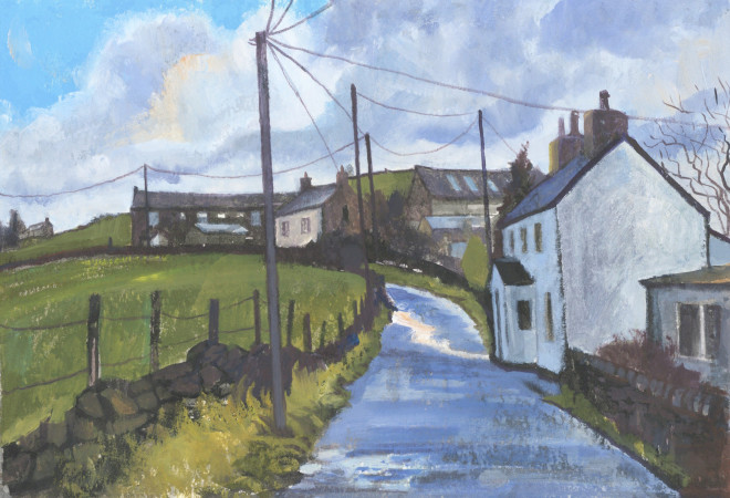 Chris Cyprus, Country Road, 2018