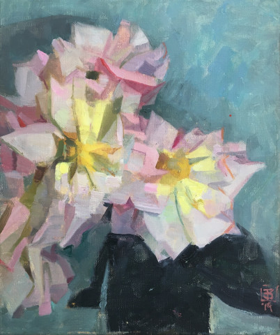 James Bland NEAC, Vertical Roses 2