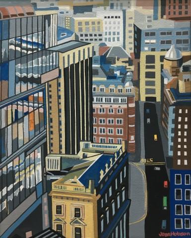 Jean Hobson, York Street, Manchester (Study)