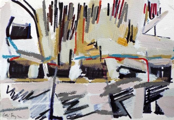 Colin Taylor MAFA, Spinningfields Site Drawing #3