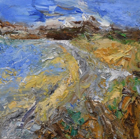 Matthew Bourne, Freshwater East, Fast Moving Clouds