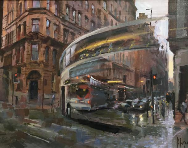 Bus Turning, Whitworth Street
