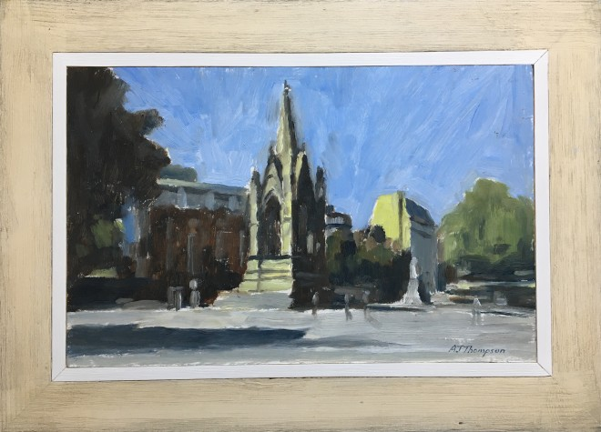 Alan James Thompson, Albert Square, Manchester in Sunlight