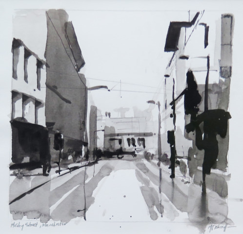 Michael Ashcroft MAFA, Mosley Street, 2018