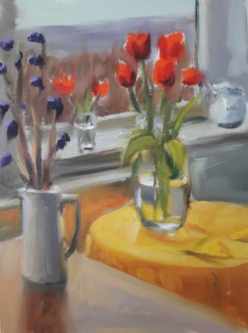Liam Spencer, Flowers by the Window