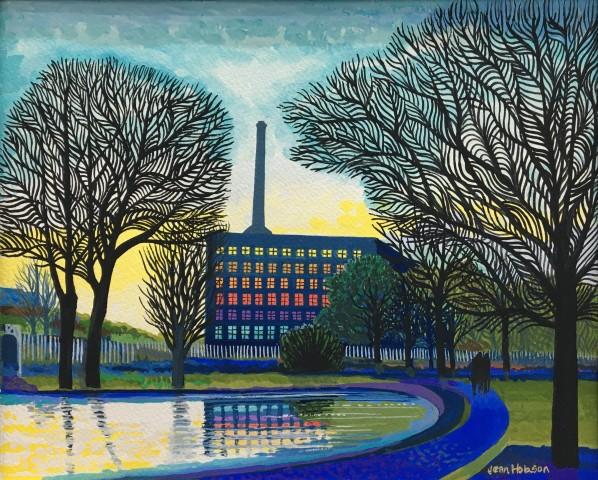 Jean Hobson, Victoria Mill (Study)