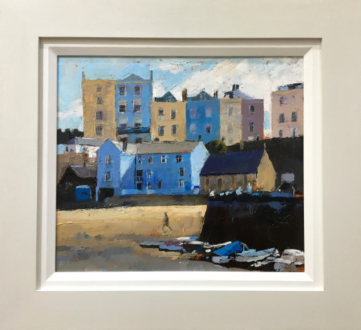 Anne Aspinall MAFA, Tenby Harbour, Low Tide
