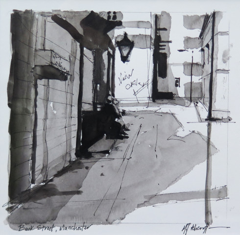 Michael Ashcroft MAFA, Back Street, Manchester, 2018