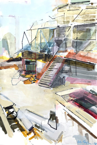 Colin Taylor MAFA, Royal Exchange Theatre #21