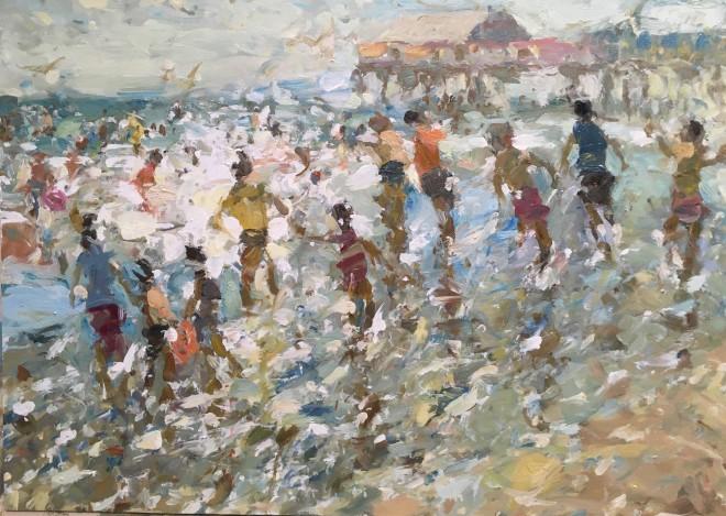 Adam Ralston MAFA, Fun at the Beach