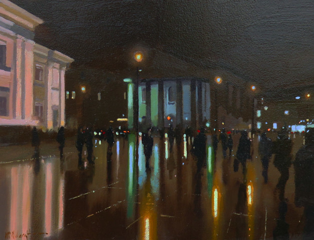 Michael Ashcroft MAFA, Trafalgar Reflections, 2019