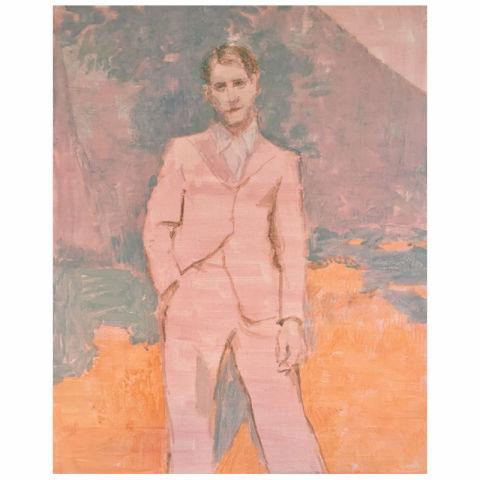 Linda Schwab, Pink Suit