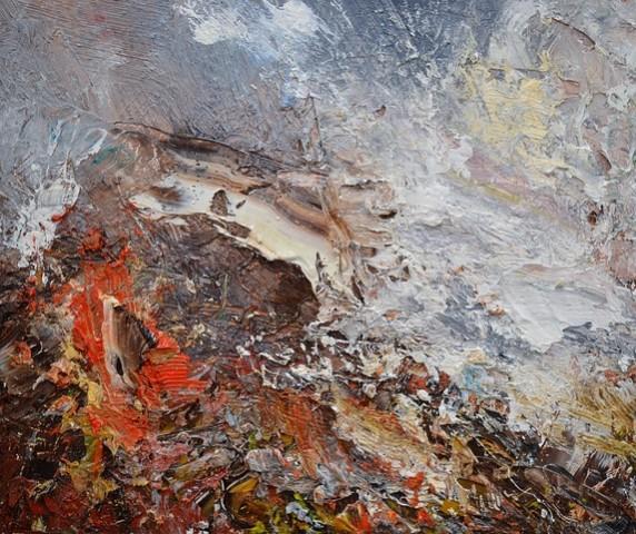 Sandstone Rocks, Incoming Tide