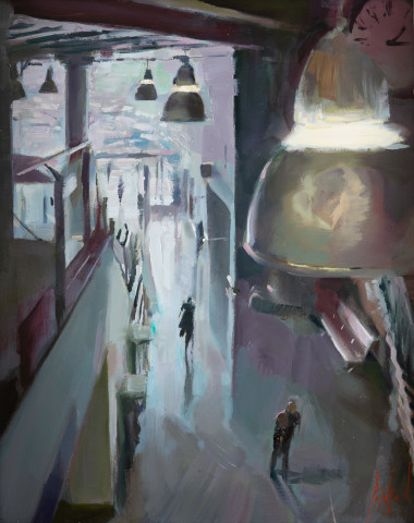Rob Pointon ROI, Lights Below Piccadilly