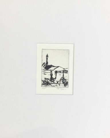 Florian Foerster, Redbank, View Towards Strangeways & Baptiste Assembly Hall