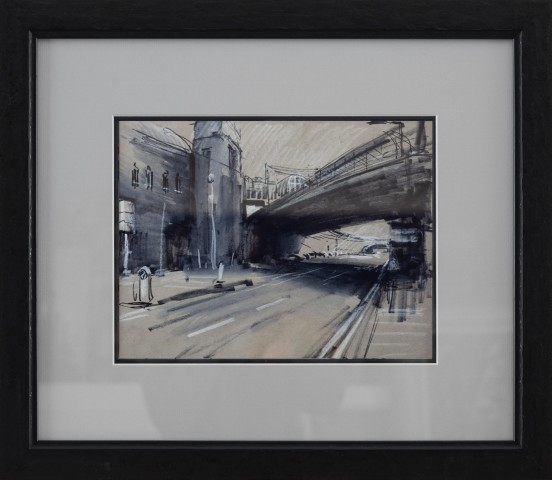 Rob Pointon ROI, Underneath Piccadilly Platform