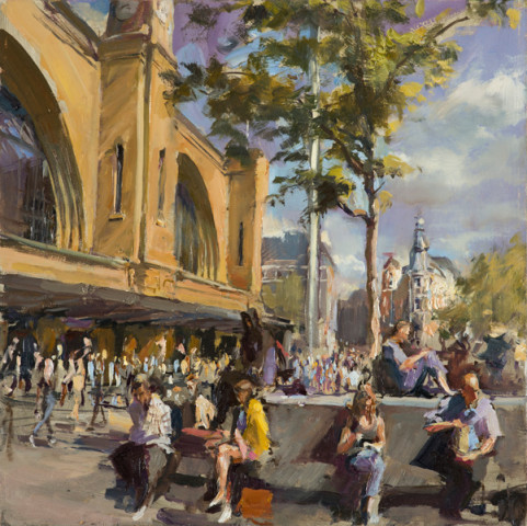 Rob Pointon AROI RBSA MAFA, Kings Cross Lunch, 2018