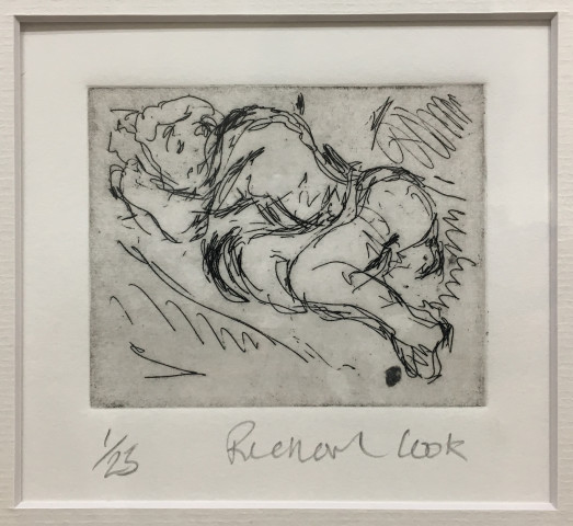 Richard Cook, Reclining Nude #3