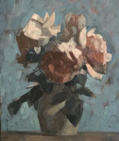 James Bland NEAC, Night Roses 2, 2020