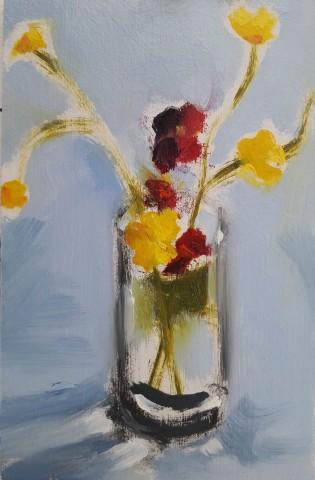Wildflowers in a Jar